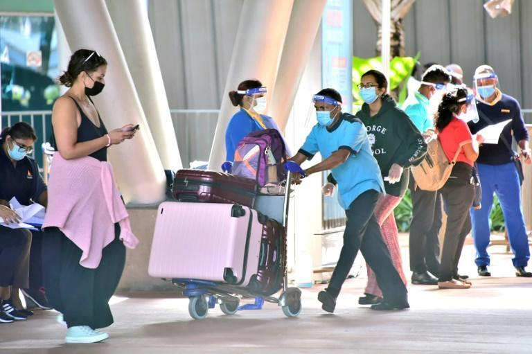 From October 1 tourists will be free to explore the island as long as they test negative up to 72 hours before arrival (AFP/-)