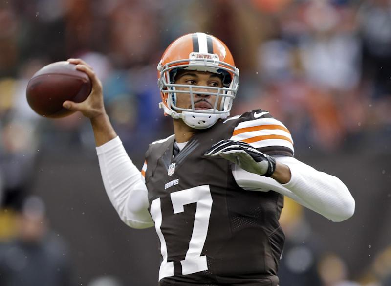 Browns QB Campbell to start against Patriots