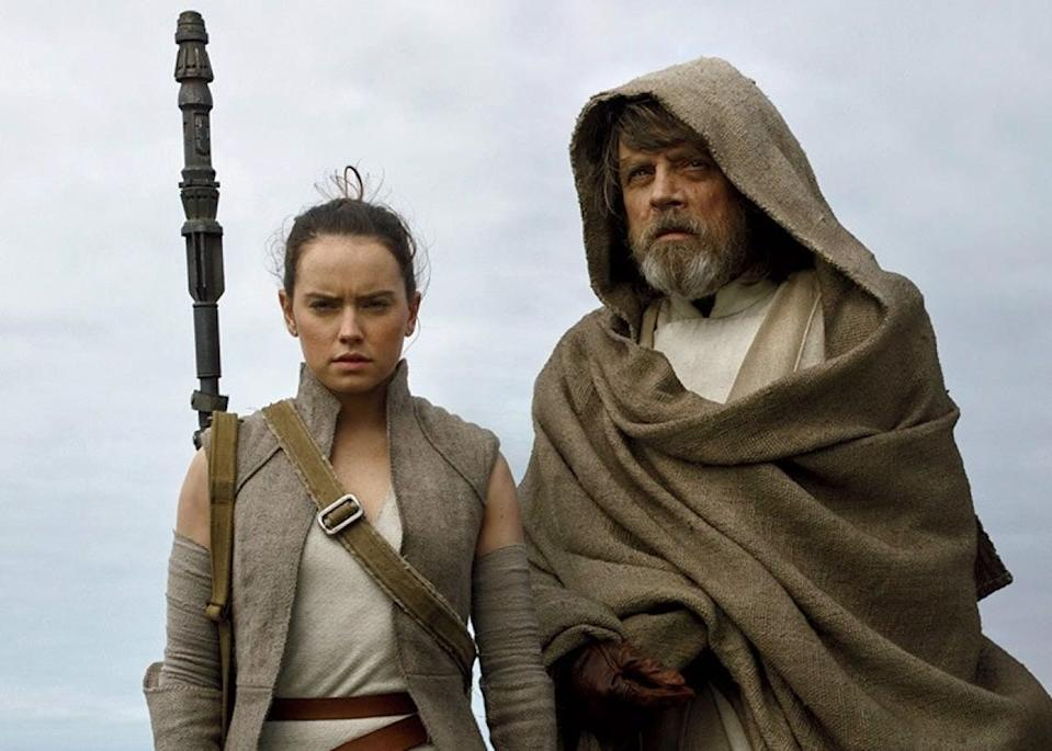 """Mark Hamill reprises his role as Luke Skywalker in the second film of the latest """"Star Wars"""" trilogy."""