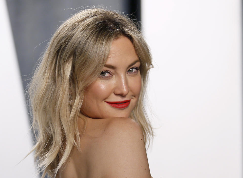 Actress Kate Hudson shared her thoughts on motherhood, and estrangement from her own father. (Photo: REUTERS/Danny Moloshok)