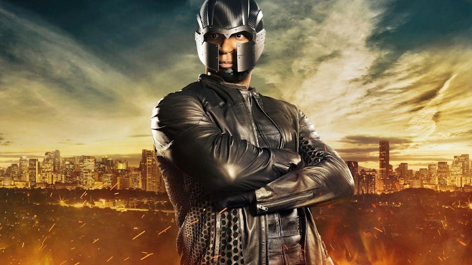 """<p>He later was added to the DC universe through an <a href=""""https://www.uselessdaily.com/news/arrow-98-amazing-facts-about-the-tv-series-list/#.Wiq8wBNSxAY"""" rel=""""nofollow noopener"""" target=""""_blank"""" data-ylk=""""slk:introduction"""" class=""""link rapid-noclick-resp"""">introduction</a> in <em>Green Arrow.</em></p>"""