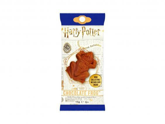 Snack on a chocolate frog during the virtual event (Tesco)