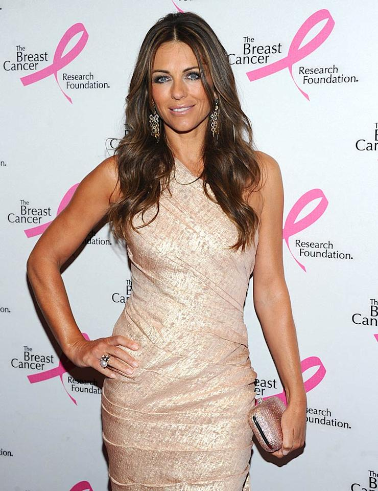 "Model/actress Elizabeth Hurley turns 46 Jamie McCarthy/<a href=""http://www.wireimage.com"" target=""new"">WireImage.com</a> - April 14, 2011"