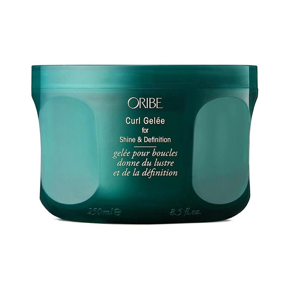 """<p>Digital editor <a href=""""https://www.allure.com/story/oribe-moisture-and-control-highly-textured-hair-collection-for-afros-review?mbid=synd_yahoo_rss"""" rel=""""nofollow noopener"""" target=""""_blank"""" data-ylk=""""slk:Jihan Forbes"""" class=""""link rapid-noclick-resp"""">Jihan Forbes</a> said that the Oribe Curl Gelée, despite having a thick texture, dried down to a weightless finish and left her highly-textured hair with a bouncy finish and days-long definition. Formulated with hydrating murumuru, mango, and cocoa seed butters, curl-enhancing neem seed oil, and cuticle-strengthening avocado butter, it'll leave your style in peak condition. We're talking about a high-shine finish, slippage, detangling, and curl smoothing and definition with any unwanted crunch. It should then come as no surprise that it landed a 2020 <a href=""""https://www.allure.com/story/best-of-beauty-awards-2020?mbid=synd_yahoo_rss#splurges"""" rel=""""nofollow noopener"""" target=""""_blank"""" data-ylk=""""slk:Best of Beauty Award"""" class=""""link rapid-noclick-resp"""">Best of Beauty Award</a> in the splurges category.</p> <p><strong>$44</strong> (<a href=""""https://www.amazon.com/ORIBE-Curl-Gelee-Shine-Definition/dp/B07P4NJPZ2"""" rel=""""nofollow noopener"""" target=""""_blank"""" data-ylk=""""slk:Shop Now"""" class=""""link rapid-noclick-resp"""">Shop Now</a>)</p>"""