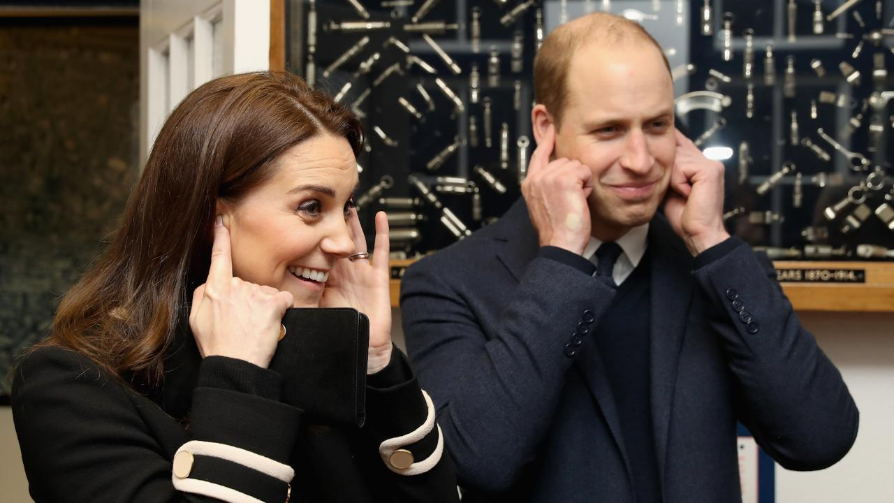 The halls of Kensington Palace are about to be filled with noise! Prince George has a new whistle.