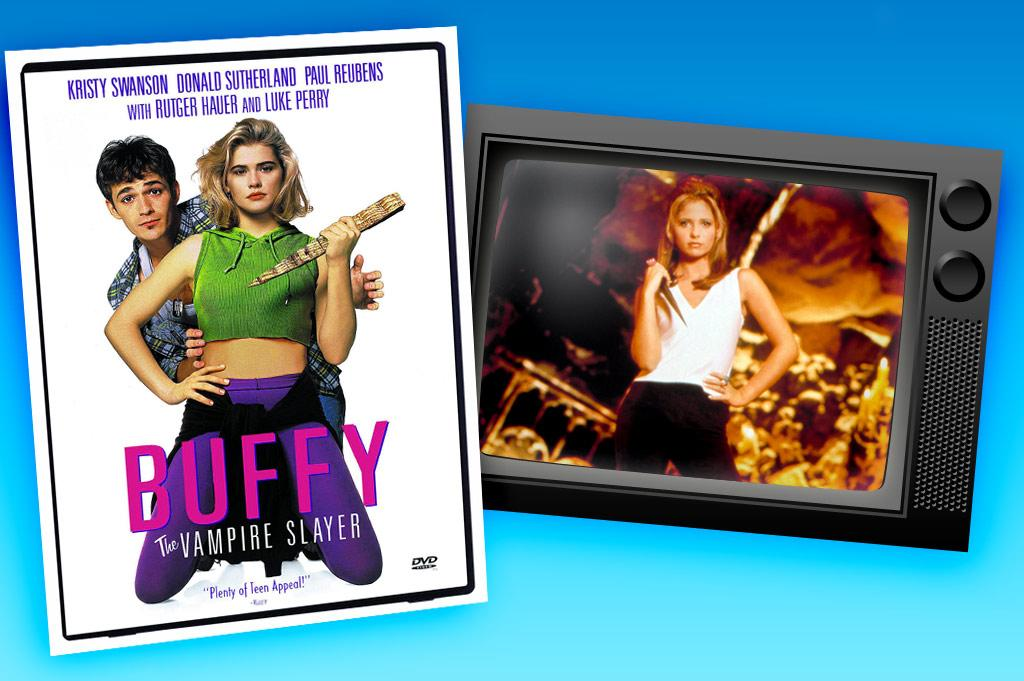 """Even though the 1992 movie """"<a href=""""http://movies.yahoo.com/movie/1800175415/info"""" rel=""""nofollow"""">Buffy the Vampire Slayer</a>"""" was written by Joss Whedon, the mastermind behind the subsequent TV series, the film turned out to be a silly, campy disaster. But to say that the TV show """"<a href=""""/buffy-the-vampire-slayer/show/29309"""">Buffy the Vampire Slayer</a>"""" is a cult classic is selling it way too short. Definitely one of the most successful movie turned TV series of all time, this is the show that launched Sarah Michelle Gellar to stardom and gave the term """"Scoobies"""" life beyond the Saturday morning cartoon of the '70s. Full of pop culture references, quick quips, and agonizingly great drama, this show was ahead of its time and beloved by its devout fans for its entire seven-year run. Yeah, it's the story of a high school girl who finds out she's the Chosen One and has to fight demons for a living, but it's much more than your typical teen drama. It's relatable, real, ridiculously clever, and just good old-fashioned fun that will draw you in from the first Xander-Cordelia exchange in Season 1. Groundbreaking for its time, it's still relevant now. The show ran for seven seasons on the WB and UPN."""