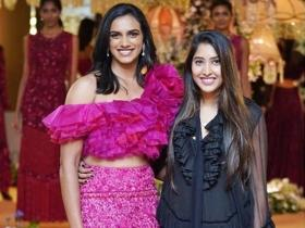 BWF World Championship winner PV Sindhu turns showstopper for designer Shriya Bhupal