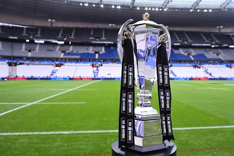 The Six Nations trophy will be in Paris with Ireland in the box seat (AFP via Getty)