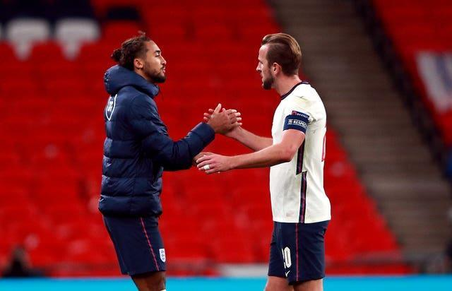 Dominic Calvert-Lewin is back-up to Harry Kane with England