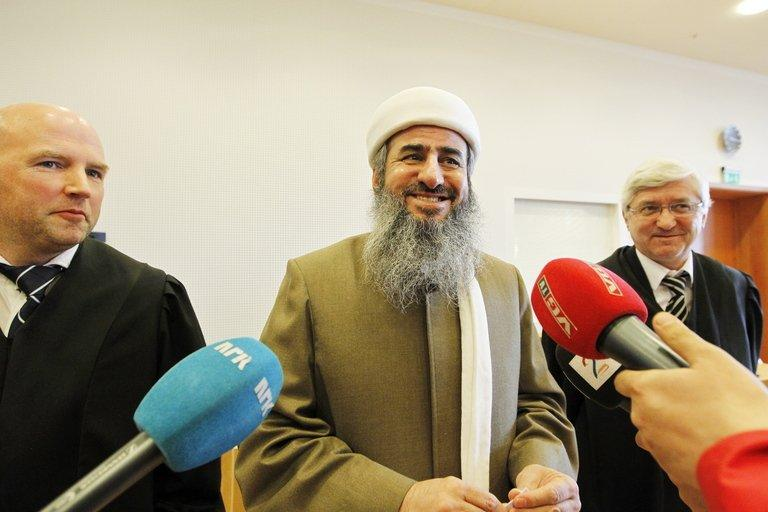 Mullah Krekar, pictured in March, is the Iraqi founder of a radical Iraqi Kurdish Islamist group