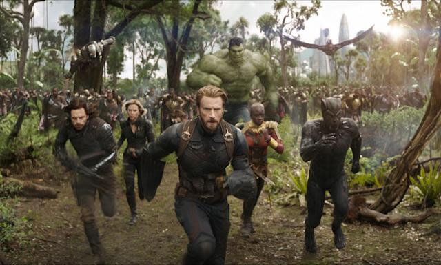 <em>Avengers: Infinity War.</em> (Photo: Marvel Studios)
