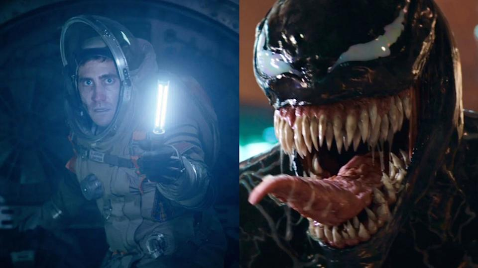Jake Gyllenhaal sci-fi 'Life' is seen by some as a potential prequel to superhero tale 'Venom'. (Credit: Sony)