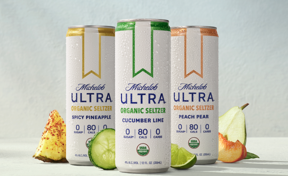 """<p>Michelob Ultra is loved for their low-cal beer options and now theyre throwing their hat into the hard seltzer ring. The brand released a line of organic seltzers that come in three flavors: spicy pineapple, cucumber lime, and peach pear. Each can has zero carbs, zero sugar, and is only 80 calories.</p><p><a class=""""link rapid-noclick-resp"""" href=""""https://go.redirectingat.com?id=74968X1596630&url=https%3A%2F%2Fdrizly.com%2Fbeer%2Fspecialty-beer-alternatives%2Fhard-seltzer%2Fmichelob-ultra-organic-seltzer%2Fp129087&sref=https%3A%2F%2Fwww.delish.com%2Fkitchen-tools%2Fcookware-reviews%2Fg33263238%2Fhard-seltzers%2F"""" rel=""""nofollow noopener"""" target=""""_blank"""" data-ylk=""""slk:BUY NOW"""">BUY NOW</a> <strong><em>Michelob Ultra Organic Seltzer, $17.99, drizly.com</em></strong></p>"""
