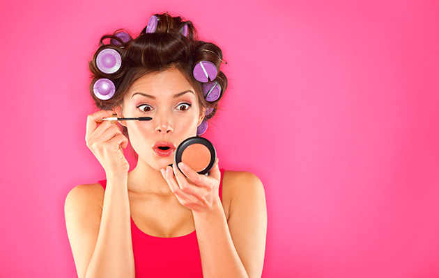 Here's five make-up hacks to make your life easier. Photo: Getty