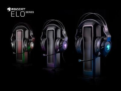 The new ROCCAT Elo Series Headsets Offer PC Gamers the Perfect Blend of ROCCAT's Award-Winning German Design & Innovation with Turtle Beach's Unrivaled Audio Expertise & Exclusive Technologies