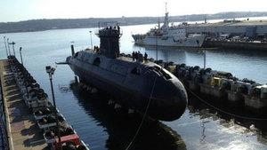 The long-awaited launch of HMCS Windsor began this morning.