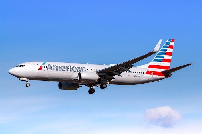 American Airlines has confirmed that authorities boarded Flight 2289 over a 'possible security threat' (Getty Images)