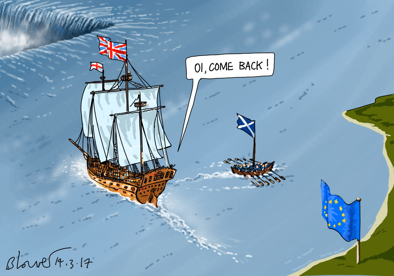 MARCH 14: A SECOND SCOTTISH INDEPENDENCE VOTE IS COMING…