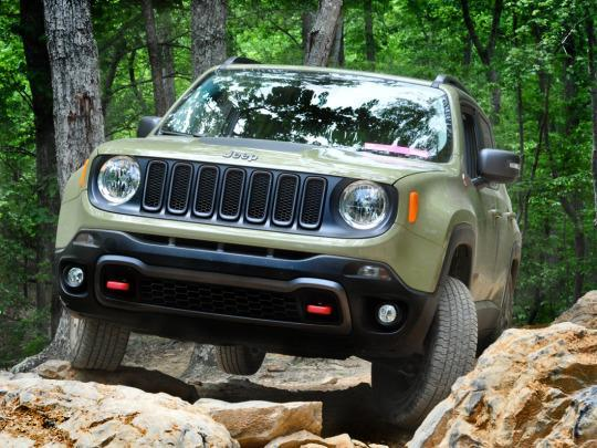 Jeep Renegade Off Road >> Is The Jeep Renegade Trailhawk For Real Off Road With The Littlest Jeep