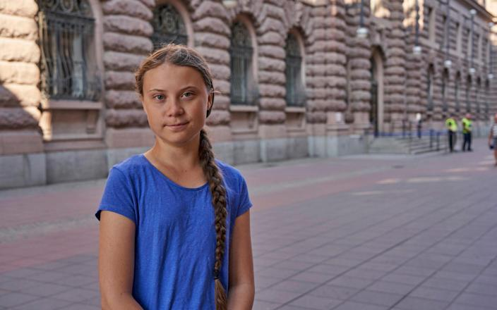 The Swedish teenager's social media-savvy brand of eco-activism has inspired tens of thousands of students - AP