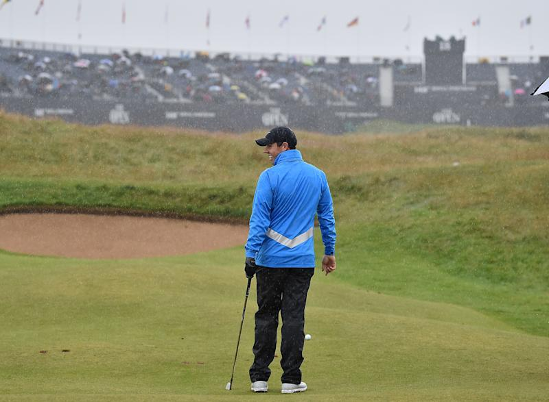 Rory McIlroy's triumphant homecoming. (Getty)