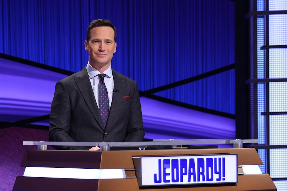 'Jeopardy!' executive producer (and former game-show host) Mike Richards stepped behind the podium for two weeks, from  Feb. 22 to March 5.