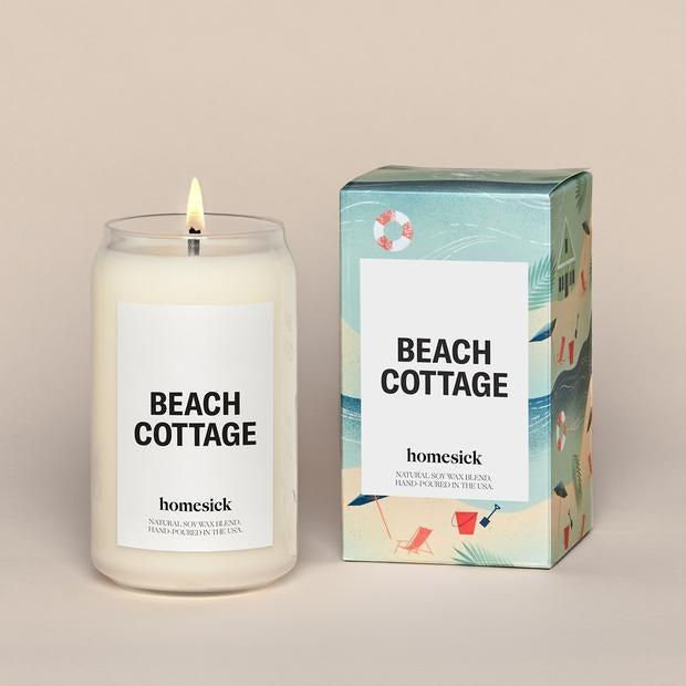 """<h2>Beach Cottage Candle</h2> <br>July was a middle of summer month where we all really sunk into our summer-at-home routines — with readers carting up <a href=""""http://refinery29.com/en-us/2020/07/9918259/work-from-home-decor-accessories"""" rel=""""nofollow noopener"""" target=""""_blank"""" data-ylk=""""slk:WFH accessories to brighten up their now too-familiar spaces"""" class=""""link rapid-noclick-resp"""">WFH accessories to brighten up their now too-familiar spaces</a>. The top-pick? This delightful Beach Cottage candle that apparently smells like, """"Salty ocean air with hot sand under foot. Afternoon tides leave driftwood, seaweed, and conch shells scattered along the shore."""" And with 5 out of 5 stars on Homesick, more than one delighted customer backs that claim: """"I absolutely love the smell of this candle. It smells like a day at the beach and burns really well. It's the perfect summer candle!""""<br><br><em>Shop <strong><a href=""""https://homesick.com/collections/candles"""" rel=""""nofollow noopener"""" target=""""_blank"""" data-ylk=""""slk:Homesick"""" class=""""link rapid-noclick-resp"""">Homesick</a></strong></em><br><br><strong>Homesick Candles</strong> Beach Cottage Candle, $, available at <a href=""""https://go.skimresources.com/?id=30283X879131&url=https%3A%2F%2Fhomesick.com%2Fproducts%2Fbeach-cottage-candle"""" rel=""""nofollow noopener"""" target=""""_blank"""" data-ylk=""""slk:Homesick Candles"""" class=""""link rapid-noclick-resp"""">Homesick Candles</a><br><br><br>"""