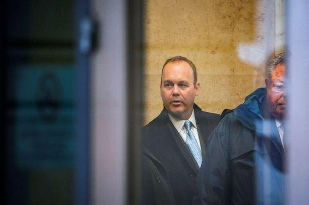PHOTO: Rick Gates, former campaign aide to President Donald Trump, arrives for his sentencing at district court in Washington, Dec. 17, 2019. (Alexander Drago/Reuters)