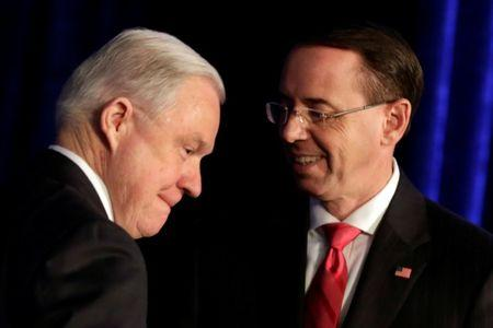 Sessions defends deputy Rosenstein after impeachment moveMore