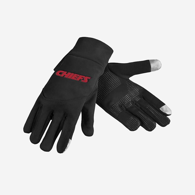 Chiefs Texting Gloves