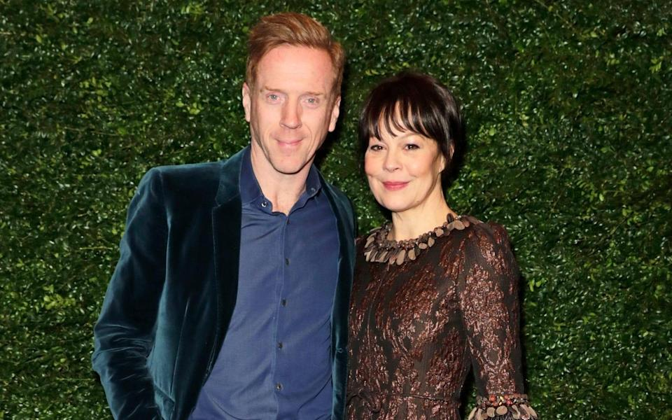"""Damian Lewis said: """"I've never known anyone so consciously spread happiness. """"Even when dying in her last few days, when talking to our wonderful carers, she repeatedly said, 'thank you so much' in her half-delirious state. - David M. Benett/2020 David M.Benett"""