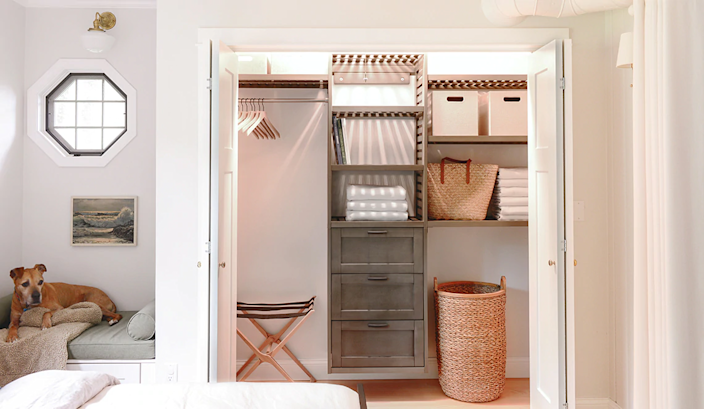 This January, take the time to clear out the clutter and make your closets sparkle.