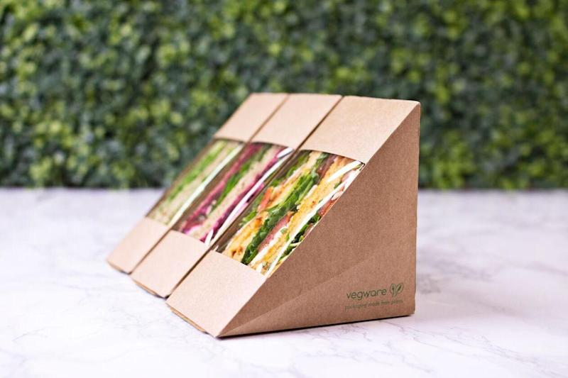 Vegware has developed compostable packaging as an alternative to plastic (Vegware)