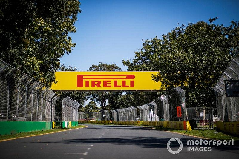 "Pirelli branding around the track<span class=""copyright"">Sam Bloxham / Motorsport Images</span>"