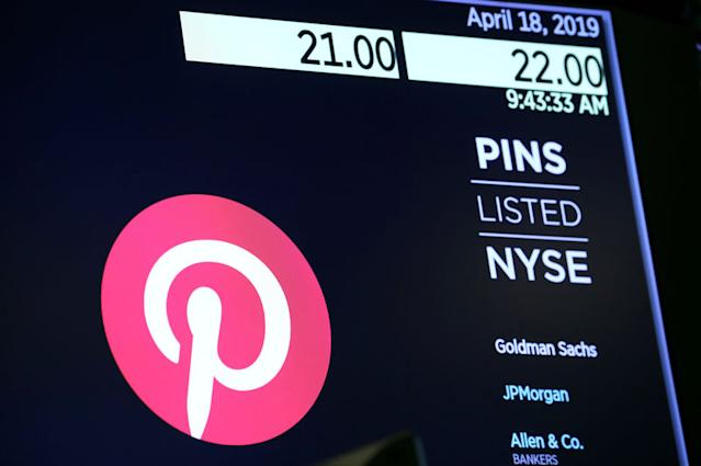 Pinterest Shares Tumble As Profit Seen Elusive