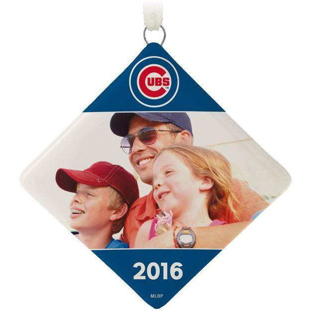 Got a favorite memory from the Cubs' World Series? Put it on an ornament. (Hallmark)