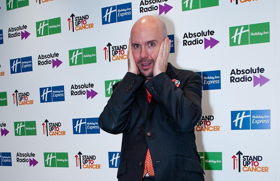 LONDON, ENGLAND - NOVEMBER 24: Tom Allen attends Absolute Radio Live 2019 at London Palladium on November 24, 2019 in London, England. (Photo by Venla Shalin/Redferns)