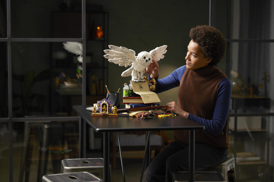 The LEGO Group is celebrating 20 years of LEGO® Harry Potter™ with the reveal of the LEGO Harry Potter™ Hogwarts™ Icons Collectors' Edition (LEGO Group)