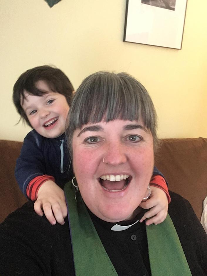 The Rev. Tamara Torres McGovern with daughter Tovi, age 3 (The Rev. Tamara Torres McGovern)