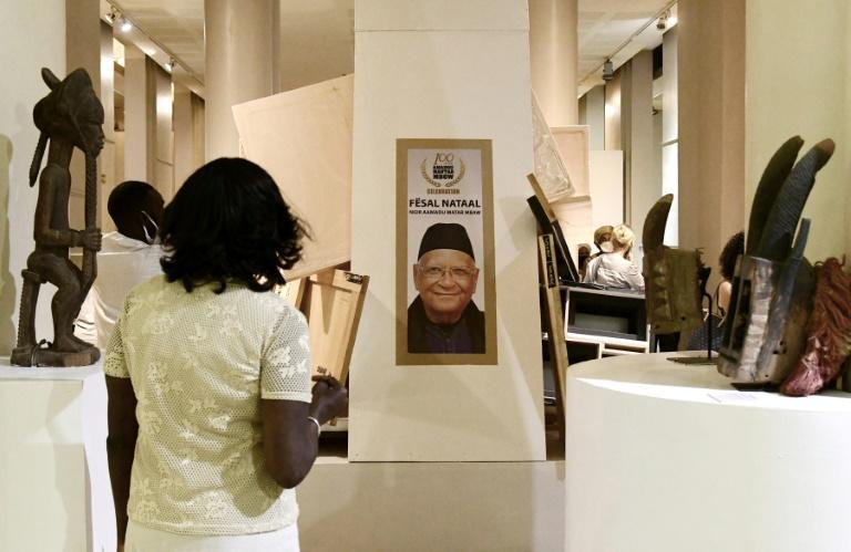 The re-opening exhibit celebrates Amadou-Mahtar Mbow, the first African director of UNESCO who turned 100