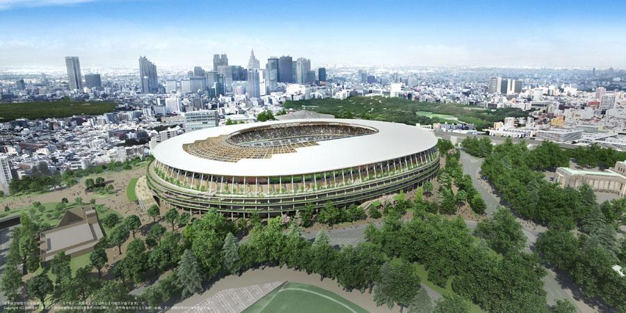 <p>National Stadium (Photo courtesy of Tokyo 2020) </p>