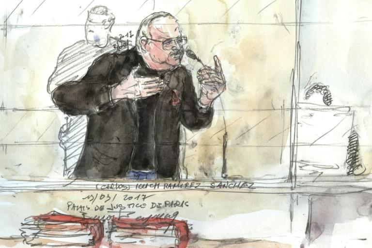 Carlos the Jackal is already serving two life sentences for murder
