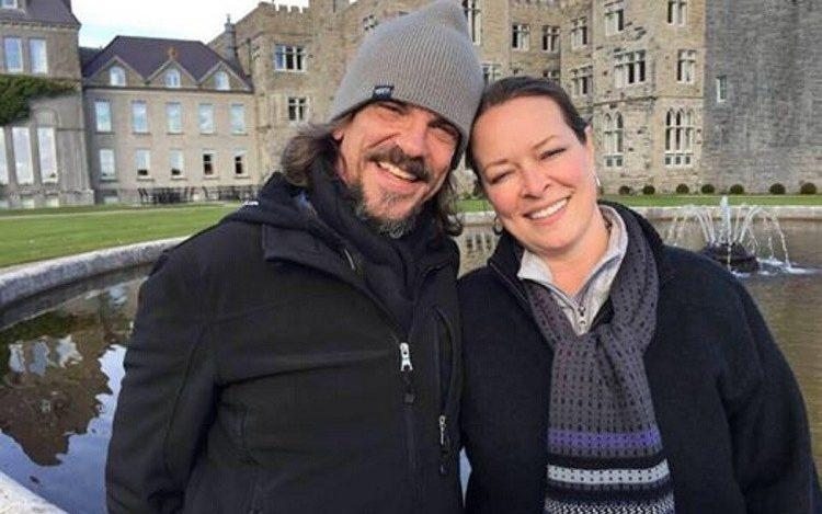 Kurt Cochran, 54, of Utah, was killed in the Westminster terror attack, pictured with his wife Melissa Cochran
