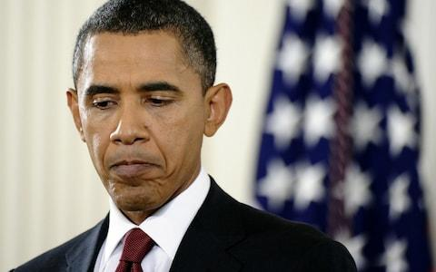 Barack Obama's agenda was curtailed by Republicans once they regained the House and Senate - Credit: AFP