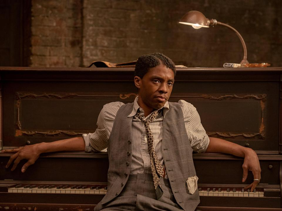Chadwick Boseman in 'Ma Rainey's Black Bottom'David Lee/Netflix