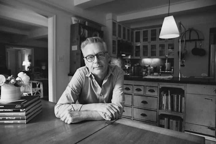 Longtime artistic director of the Center Theatre Group, Michael Ritchie, seen in his New York home.