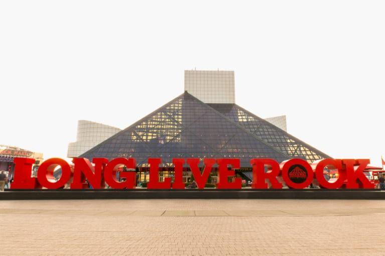 The Eurythmics are up for a spot in the Rock and Roll Hall of Fame and Museum in Cleveland, Ohio