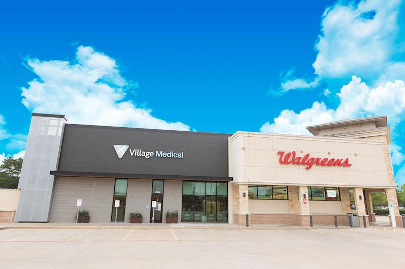 Walgreens is launching doctor-staffed clinics at 500 to 700 stores in a partnership with primary care provider VillageMD.