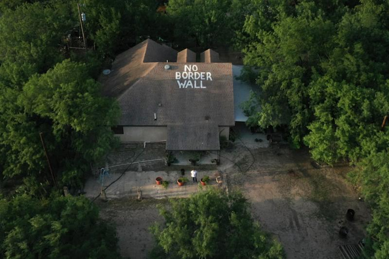 La Rosita, Texas, Nayda Alvarez is in the fight of her life to prevent the border wall from being built in her backyard.