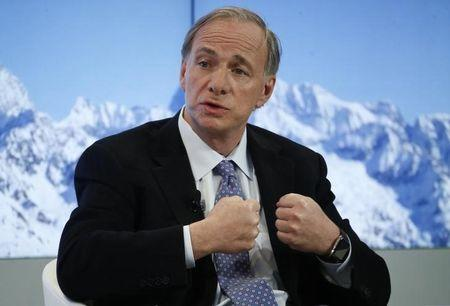 Ray Dalio, Founder, Co-Chief Executive Officer and Co-Chief Investment Officer, Bridgewater Associatesr attends the annual meeting of the World Economic Forum (WEF) in Davos